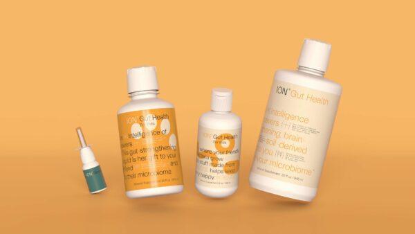 ionbiome bottles orange dental hygienists abroad