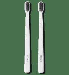 The Boka Classic Brush charcoal manual toothbrush