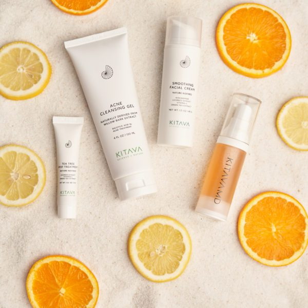 KitavaMD acne skincare kit