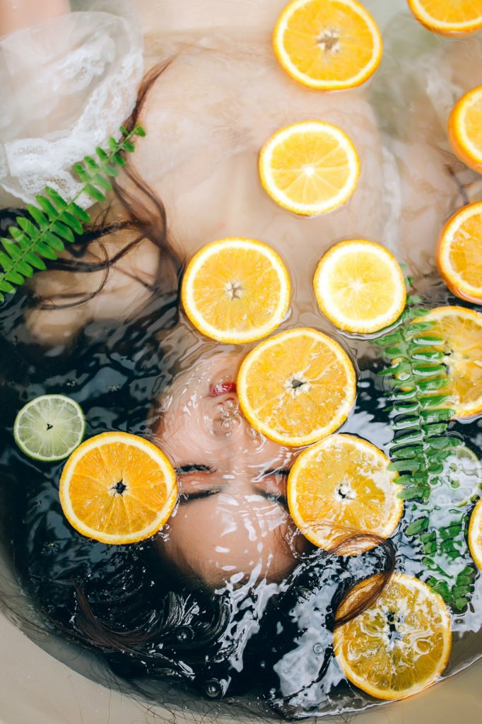 pamper yourself with natural products