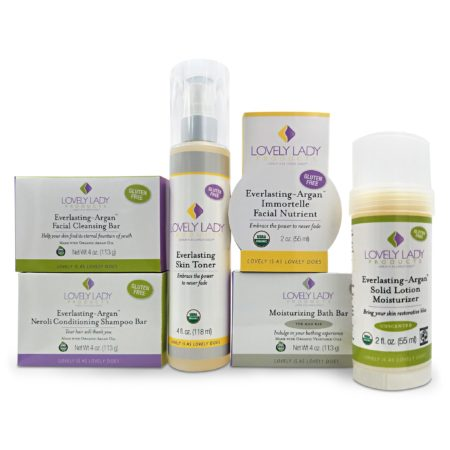 Men's Organic Skin Vitality Kit Lovely Lady Products