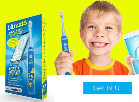 BluKids smart electric toothbrush