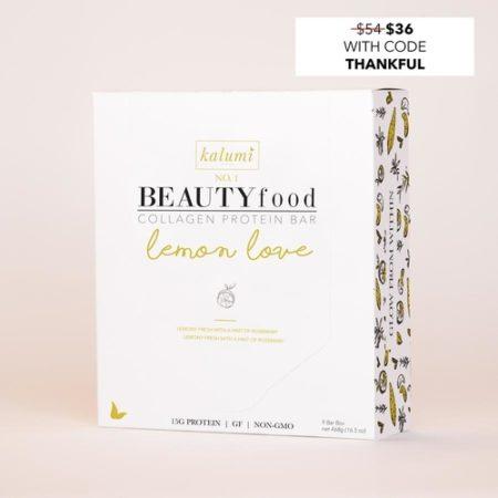lemon love collagen beauty bars